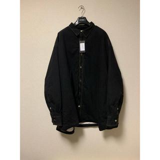 ラフシモンズ(RAF SIMONS)のRAF SIMONS padded denim shirt(Gジャン/デニムジャケット)