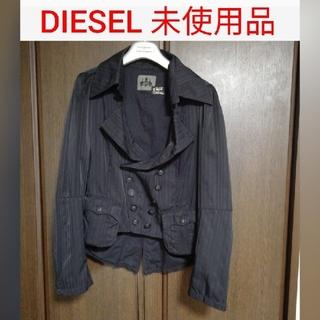 ディーゼル(DIESEL)の🍀未使用品🍀ディーゼル レディース ライダースジャケットブラック(ライダースジャケット)