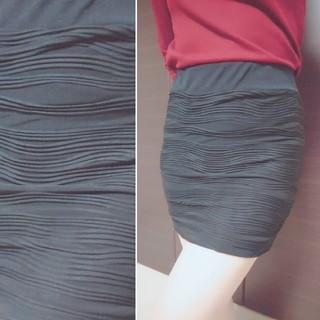 タイトスカート ミニ ブラック Mサイズ 美品 キャバ スナック ギャル(ナイトドレス)