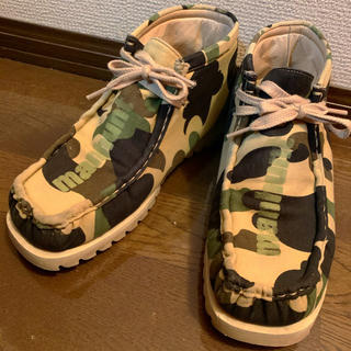 A BATHING APE - ‼️ A BATHING APE☆マンハントブーツ(^^)‼️