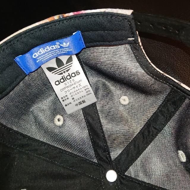 adidas(アディダス)のアディダス オリジナルス 花柄 adidas × FARM キャップ ファーム レディースの帽子(キャップ)の商品写真