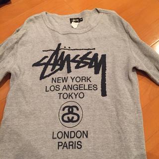 ステューシー(STUSSY)のstussyメンズワッフルT(Tシャツ/カットソー(七分/長袖))