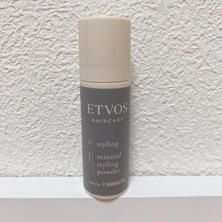 エトヴォス(ETVOS)のETOVOS スタイリングパウダー(ヘアケア)