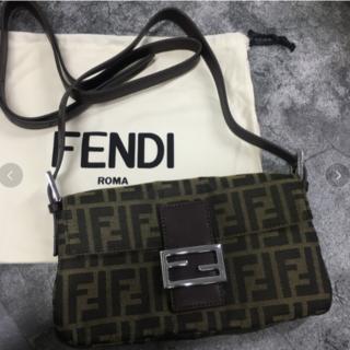 FENDI - フェンディ ズッカ マンマ ショルダー バッグ