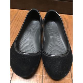 crocs - クロックス フラットシューズ 22 スウェード服 ぺったんこ