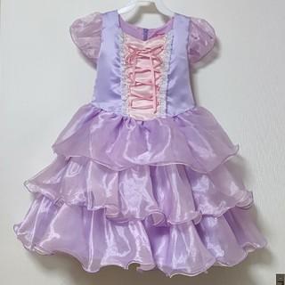 Disney - 新品☆ディズニーキッズドレス ラプンツェル120cm☆プリンセスハロウィン仮装