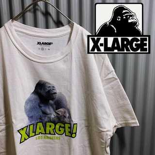 XLARGE - 希少品 X-LARGE tシャツ リアルゴリラ アニマル 動物