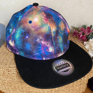 ニューエラー(NEW ERA)のsnapback  スナップバック スペース 宇宙 ギャラクシー キャップ 帽子(キャップ)