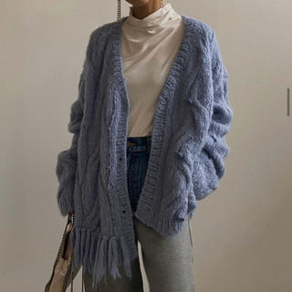 Ameri VINTAGE - Ameri★新品2WAY DISTORTION CABLE CARDIGAN