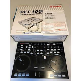パイオニア(Pioneer)のvestax vcl-100 ターンテーブル DJコントローラー ブラック(DJコントローラー)