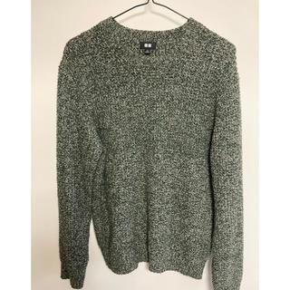UNIQLO - ユニクロ メンズ セーター グレーカラー 冬のお洒落