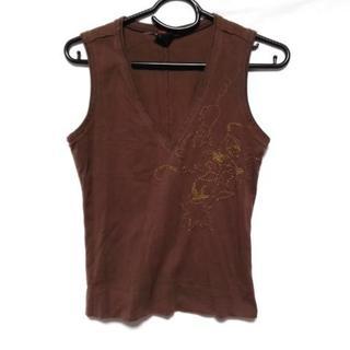 ディーゼル(DIESEL)のディーゼル ノースリーブカットソー S 刺繍(カットソー(半袖/袖なし))