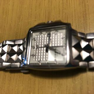ディーゼル(DIESEL)のディーゼル レディース  腕時計 DZ-1086 シルバー スタッズ(腕時計)