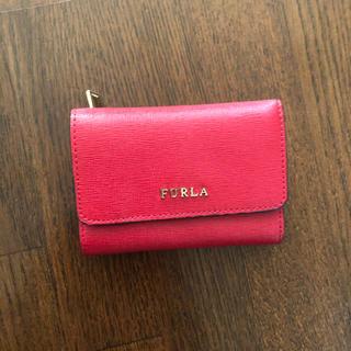 フルラ(Furla)の【美品】FURLA 三つ折り財布(財布)