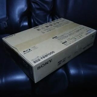 未開封商品 SONY ブルーレイレコーダー BDZ-FBW1000