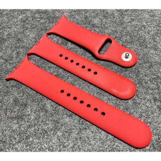 アップルウォッチ(Apple Watch)の【純正】Apple Watch スポーツベルト ローズ 38/40mm(その他)