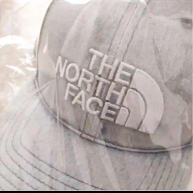 THE NORTH FACE(ザノースフェイス)の【未開封新品】ノースフェイス キャップ インディゴ染め 刺繍ロゴ フリーサイズ メンズの帽子(キャップ)の商品写真