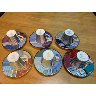 ウェッジウッド(WEDGWOOD)の限定未使用品 250年ウェッジウッドアニバーサリーカップ6客6年分コンプリート(食器)