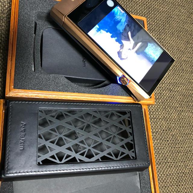 iriver(アイリバー)のAK SP1000&SP1000ampのセット スマホ/家電/カメラのオーディオ機器(ポータブルプレーヤー)の商品写真
