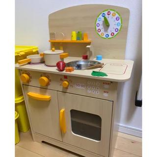 木製キッチン★おままごと★