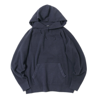 COMOLI - 【19AW/希少品】comoli 製品染ニットパーカー 【定価50,600円】