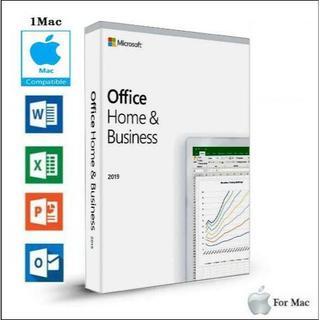 マイクロソフト(Microsoft)のMac版 1PC用/ Office 2019 Home & Business(ノートPC)