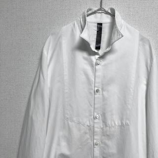ダブルジェーケー(wjk)のwjk デザインシャツ ホワイト(シャツ)