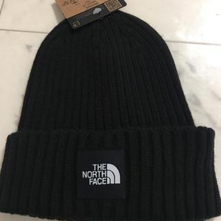 ザノースフェイス(THE NORTH FACE)のノースフェイスニット帽 黒(ニット帽/ビーニー)
