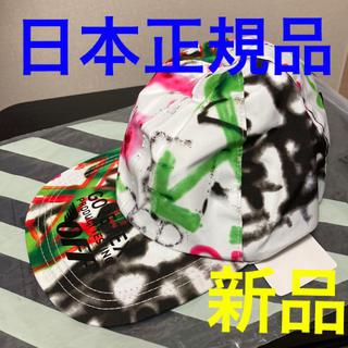 OFF-WHITE - 【新品】オフホワイト GORE-TEX カラーペイントキャップ 5 PANEL