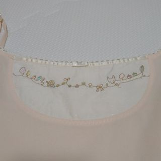 franche lippee - 美品*フランシュリッペ刺繍キャミワンピース