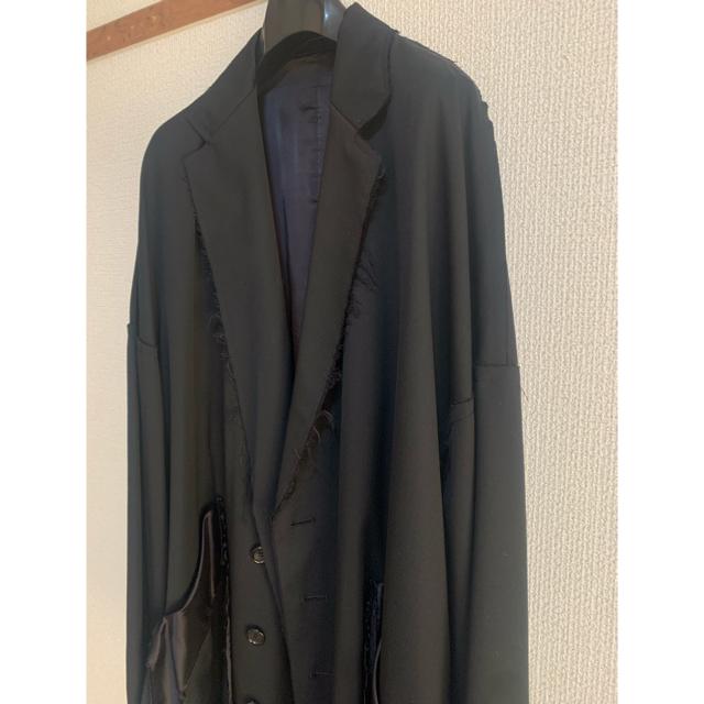 Yohji Yamamoto(ヨウジヤマモト)のsulvam 18aw オーバーコート メンズのジャケット/アウター(チェスターコート)の商品写真