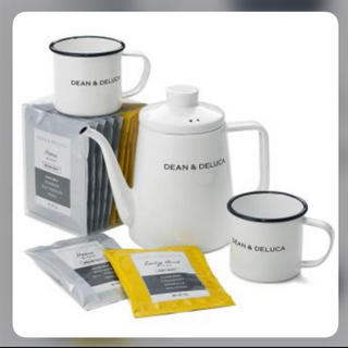 DEAN & DELUCA - 3点セット‼️ DEAN & DELUCA ホーローケトル &マグカップ2個