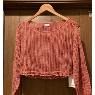 Lily Brown - 新品 Lily Brown リリーブラウン ショート丈ニット