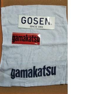 ガマカツ(がまかつ)のがまかつ gamakatsu タオルとステッカーのセット(その他)
