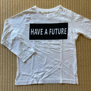 GU - GU 白 長袖 Tシャツ 120
