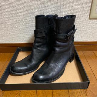 ラボキゴシワークス(RABOKIGOSHI works)のRABOKIGOSHI Works ショートブーツ 黒(ブーツ)