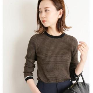IENA - 新品未使用♡イエナ♡6x3リブクルーネックプルオーバー