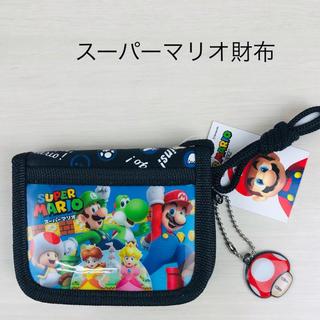 ニンテンドウ(任天堂)のスーパーマリオ RFウォレット 財布  ジャンプ柄MBS-613(財布)