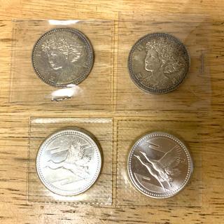 記念硬貨 大阪ESPO'90  皇太子殿下御成婚記念 合計4枚