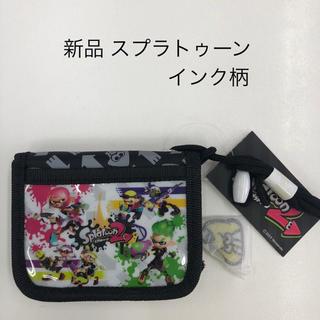 ニンテンドウ(任天堂)のスプラトゥーン2 RFウォレット 財布 インク柄 (SPT-743)(財布)