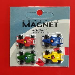 ミドリカンパニー 強力マグネット F1カー 新品未使用品 ミニマグネット