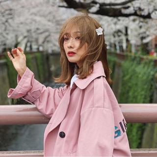 レディアゼル(REDYAZEL)のd'zzit 前田希美 まえのん トレンチ ジャケット アウター 新品 ブルゾン(トレンチコート)