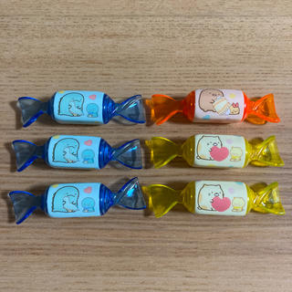 サンエックス(サンエックス)のすみっコぐらし 香り付きキャンディマーカー 3色6本セット(ペン/マーカー)