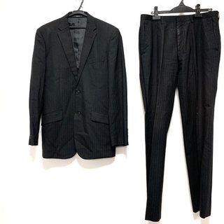 コムサイズム(COMME CA ISM)のコムサイズム シングルスーツ サイズL - 黒(セットアップ)