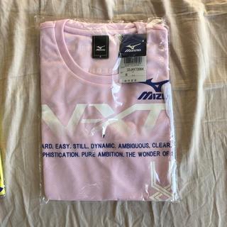 ミズノ(MIZUNO)のミズノTシャツ ピンク  サイズS(ウェア)