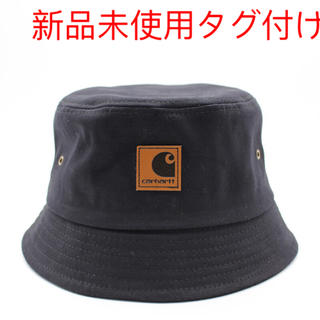 新品未使用タグ付け Carhartt バケットハット 帽子 ブラック