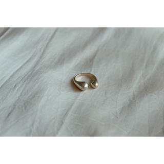 ビームス(BEAMS)のopen ring𓃇⦅gold⦆(リング(指輪))