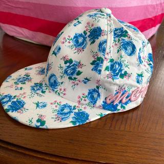 リズリサ(LIZ LISA)のLIZ LISA(リズリサ) 花柄キャップ 帽子(キャップ)