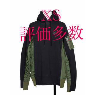 サカイ(sacai)の新品nike×sacai hoodie パーカー ナイキ フーディー(パーカー)