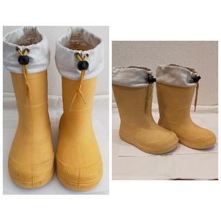 MUJI (無印良品) - 無印良品 長靴2足セット 18〜19cm、20〜21cm